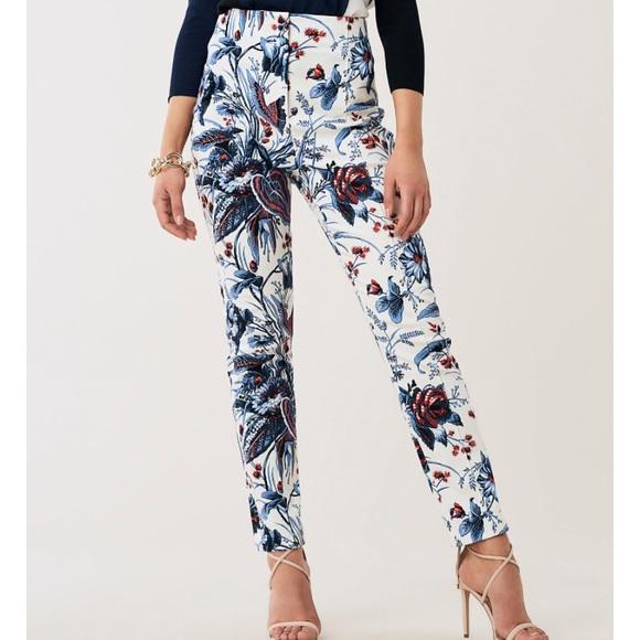 Diane Von Furstenberg Floral Pants BNWT